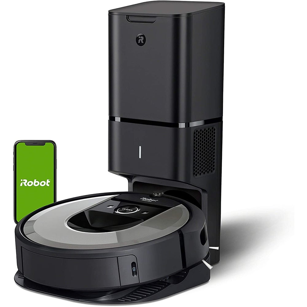 iRobot Roombas and Mops