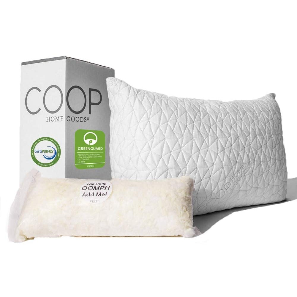 Best for Side and Stomach: The Original Coop Home Goods Pillow ($60)