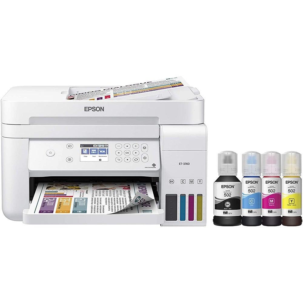 Best Sublimation Printer: Epson EcoTank ET-3760 ($375)