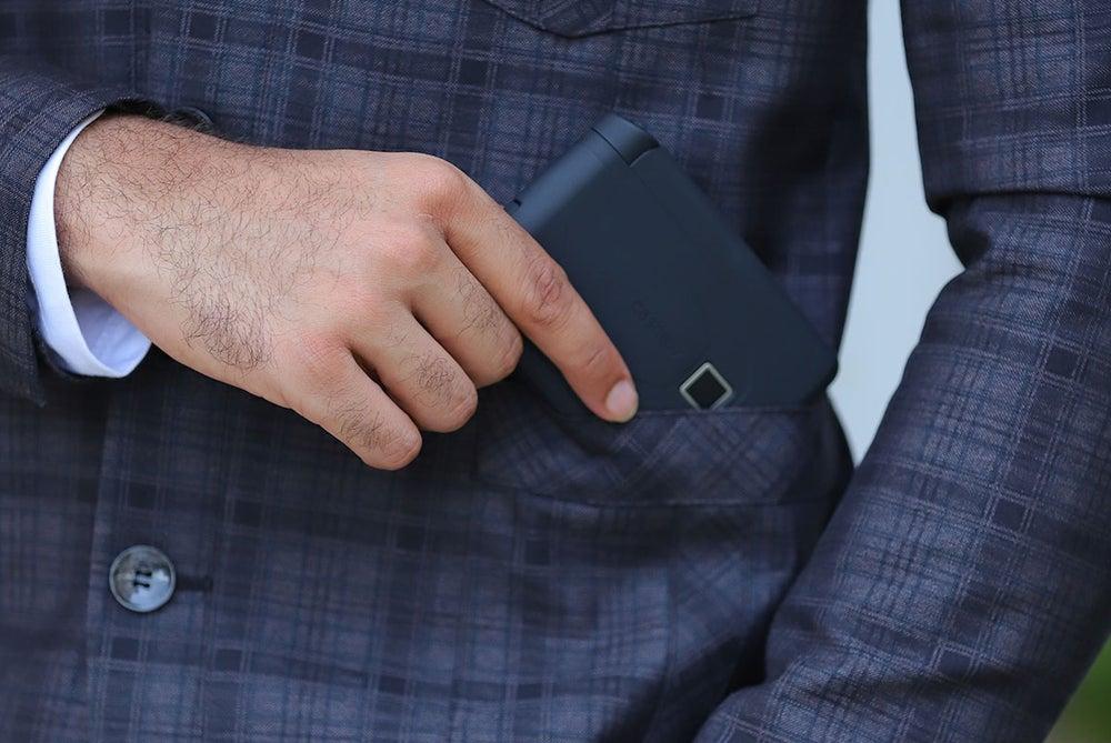 Cashew Smart Wallet with Biometrics & Bluetooth