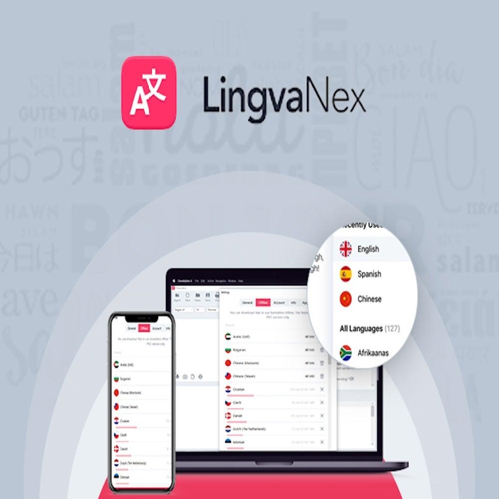 LingvaNex Translator: Lifetime Subscription