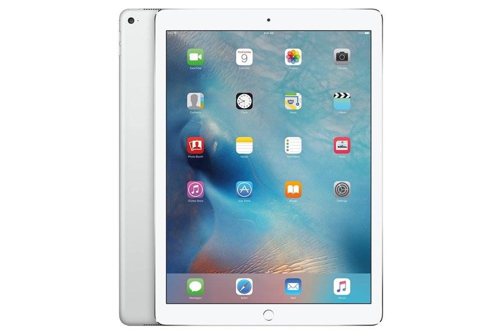 """Apple iPad Pro 1st Gen 12.9"""", 128GB - Silver (Refurbished: Wi-Fi + 4G Unlocked)"""