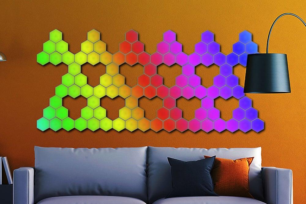 Touch-Sensitive Modular Wall Lighting