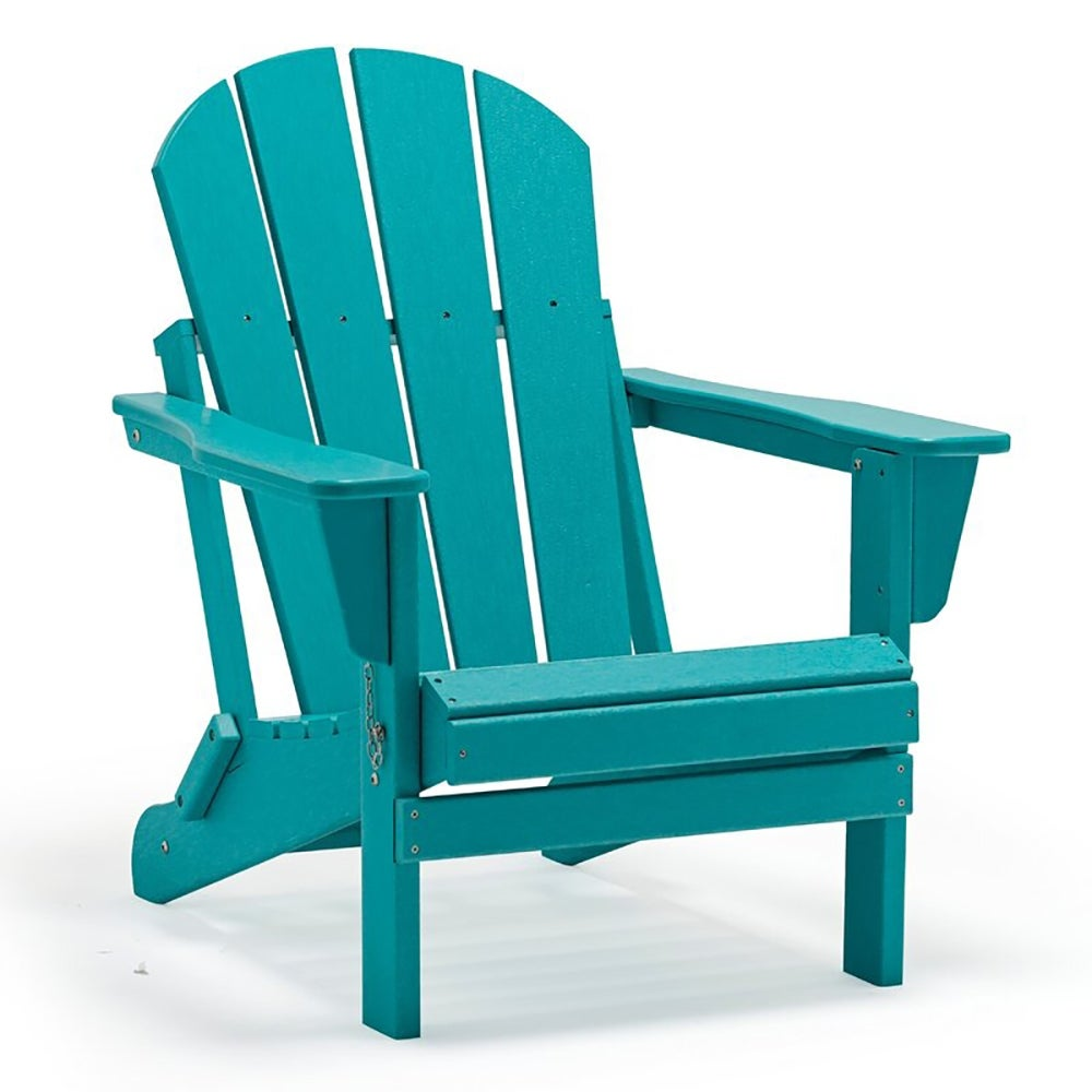 Best Adirondack Chair Overall: Lopes Resin Folding Adirondack Chair (Set of 2) ($390)