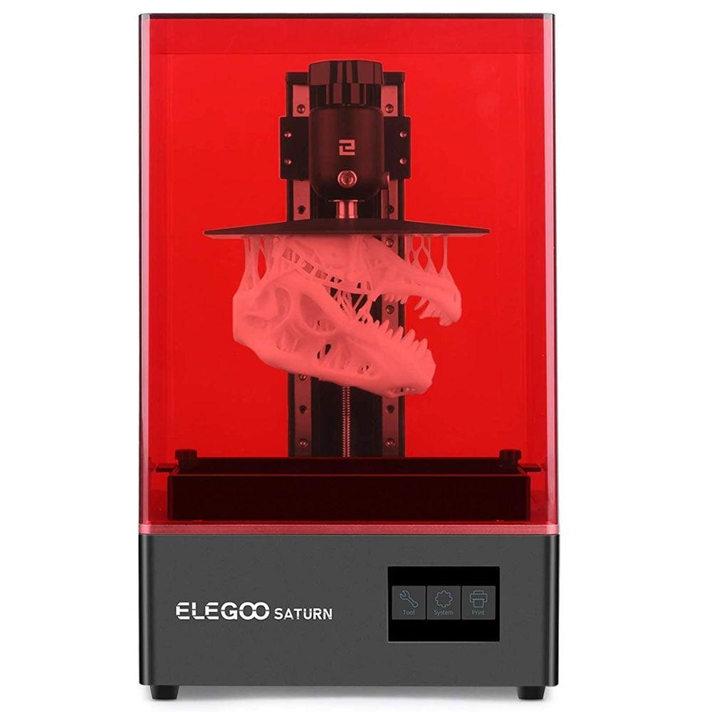 Best Large Volume Resin 3D Printer: Elegoo Saturn ($500)