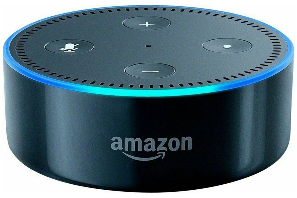 Amazon Echo Dot 2nd Generation Speaker - Black (Refurbished)
