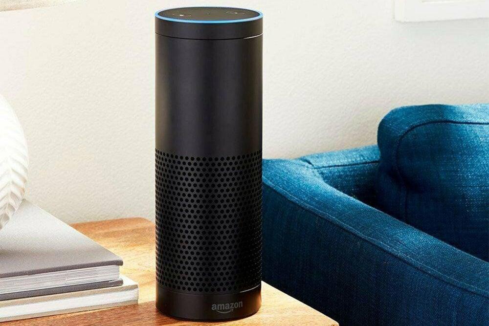 Amazon Echo Speaker 1st Generation - Black (Refurbished)