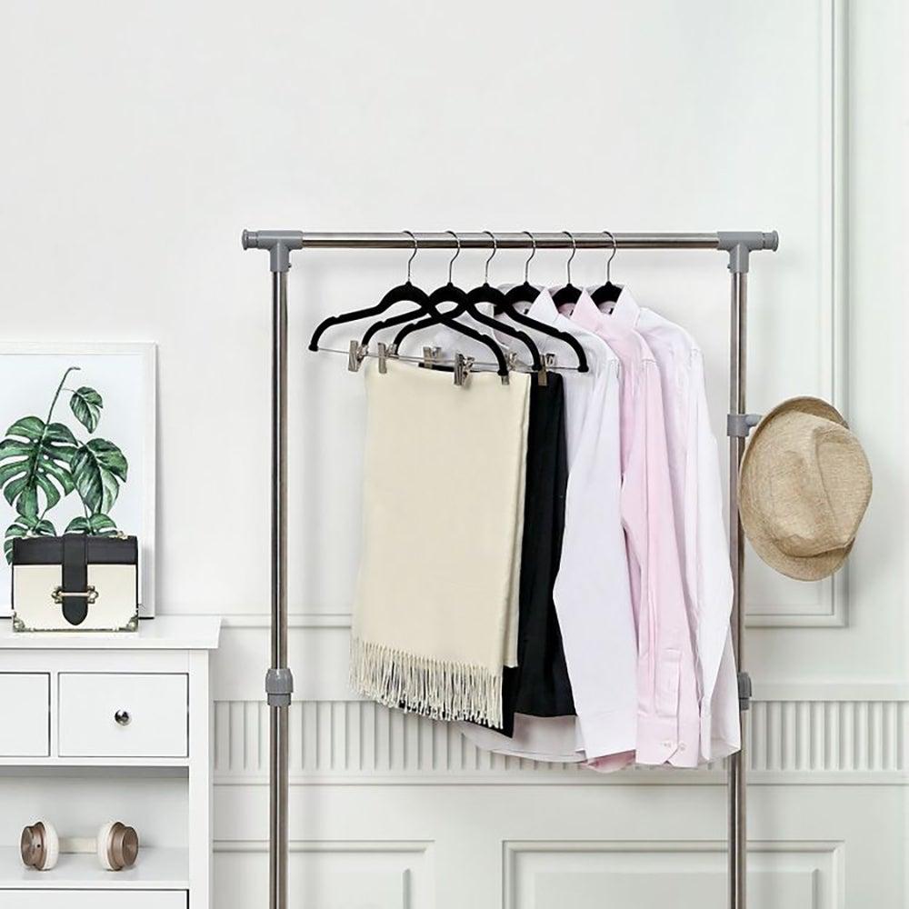 Best Clothes Hangers: 30-Pack Pants Hangers ($27)