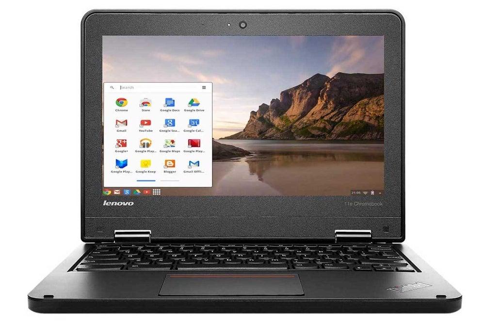 "Lenovo 11E 11.6"" Thinkpad Chromebook 16GB SSD - Black (Refurbished)"