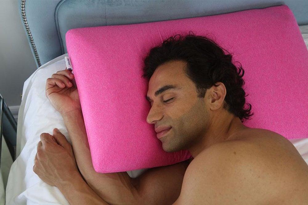 Dr. Pillow Dual Side Bamboo & Gel Memory Foam Pillow