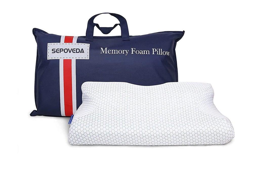 Dr. Pillow Orthopedic Contour Memory Foam Sleeping Pillow
