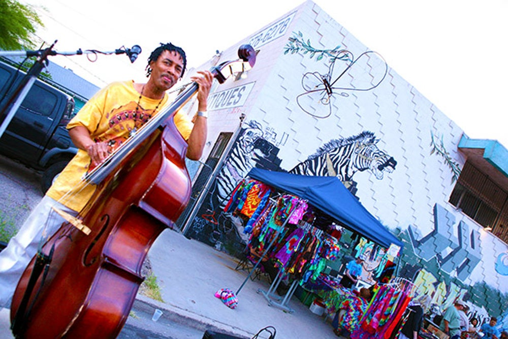 Musicians at First Friday