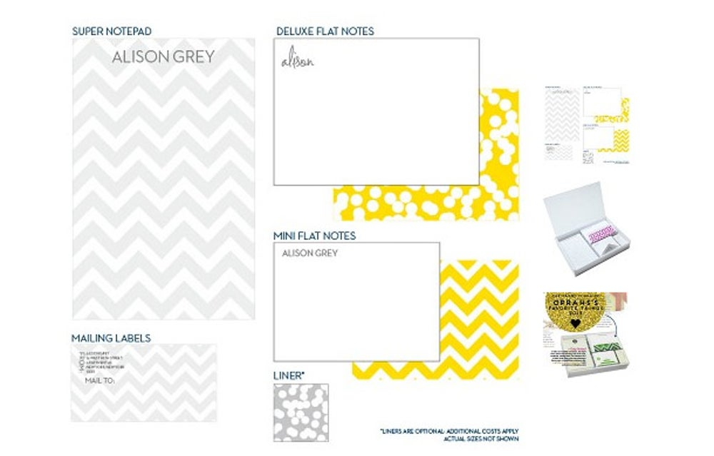 Dabney Lee's Caddylicious Stationery Set