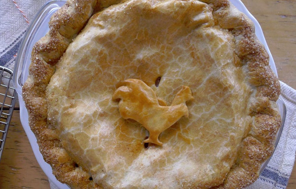 Pie Corps Roasted Turkey Pie