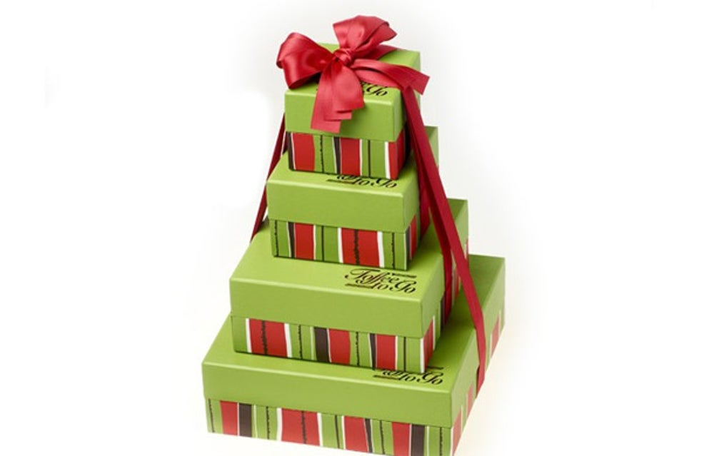 Toffee To Go Holiday Collection Tower