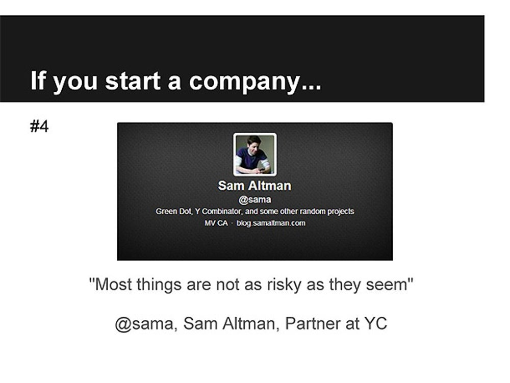 Sam Altman, Partner at Y Combinator