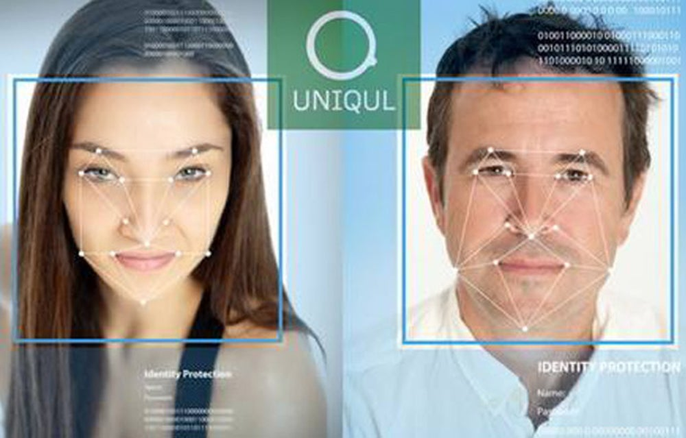 A system that scans your face -- not your credit card -- at the check-out line.