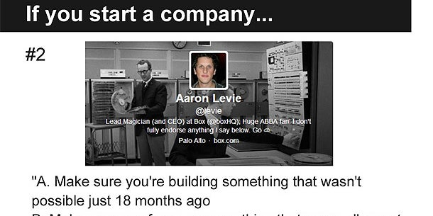 Aaron Levie, Founder and CEO at Box