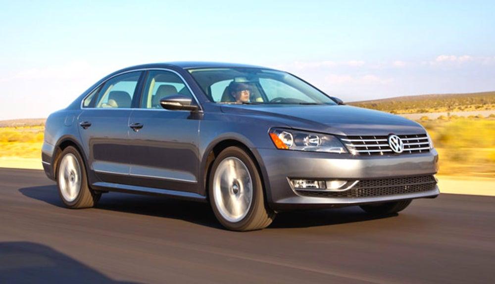 2012 Volkswagen Passat TDI SEL