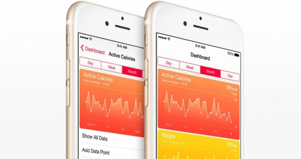 Apple has added some health-related features to the iPhone over the past few years, like the step counter in the iPhone 5s. None of Apple's iPhones have a heart-rate monitor, however.