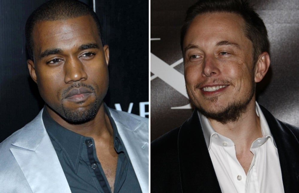 1. Kanye West by Elon Musk