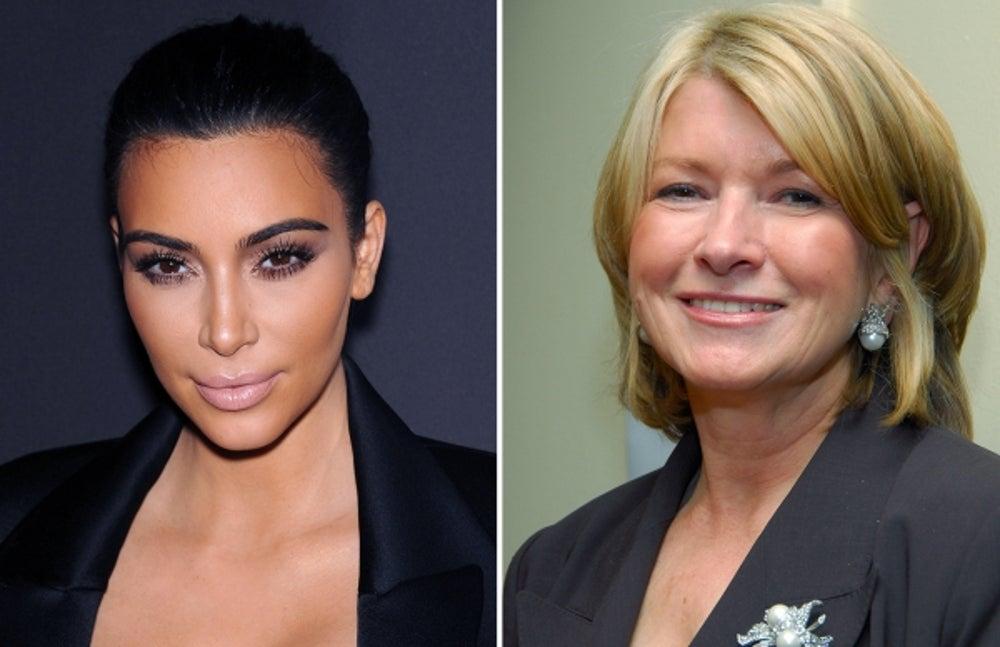 2. Kim Kardashian by Martha Stewart