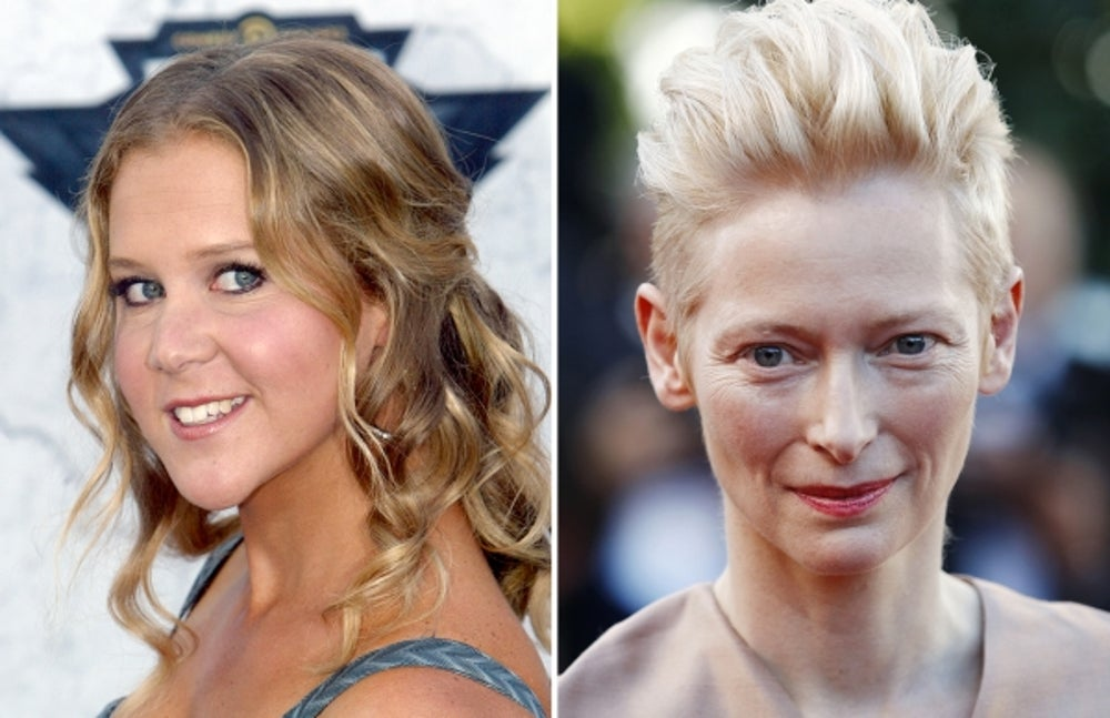 5. Amy Schumer by Tilda Swinton