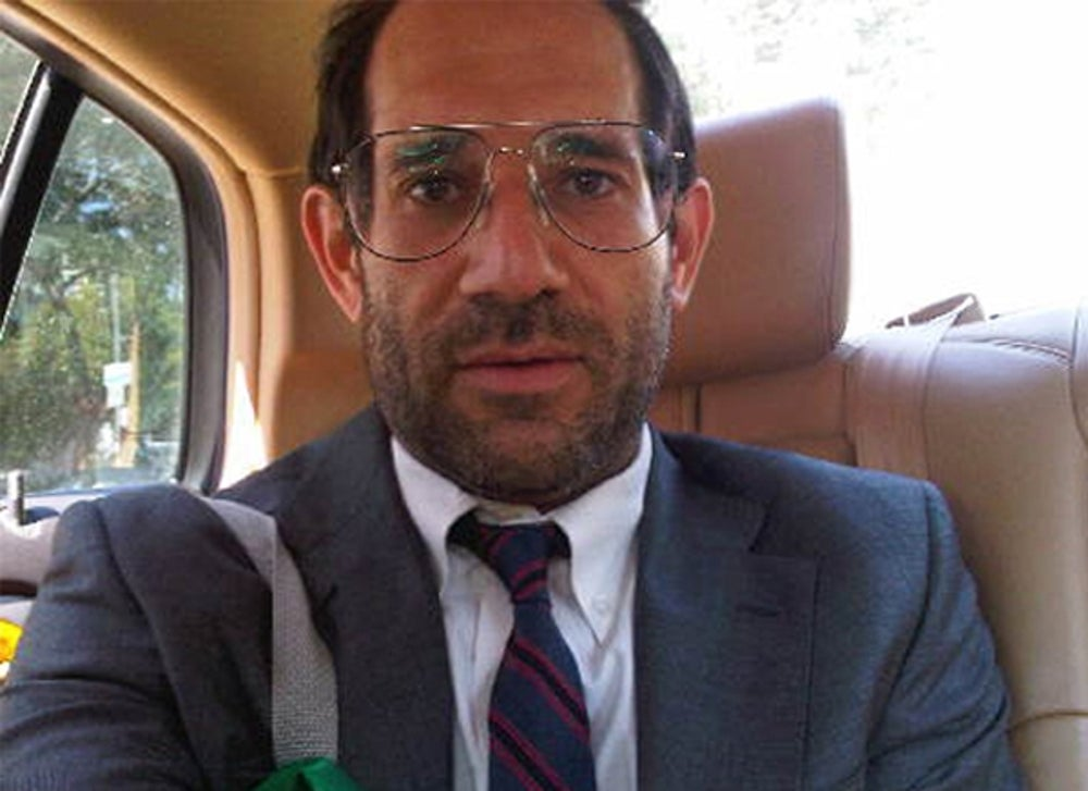 American Apparel founder and CEO Dov Charney