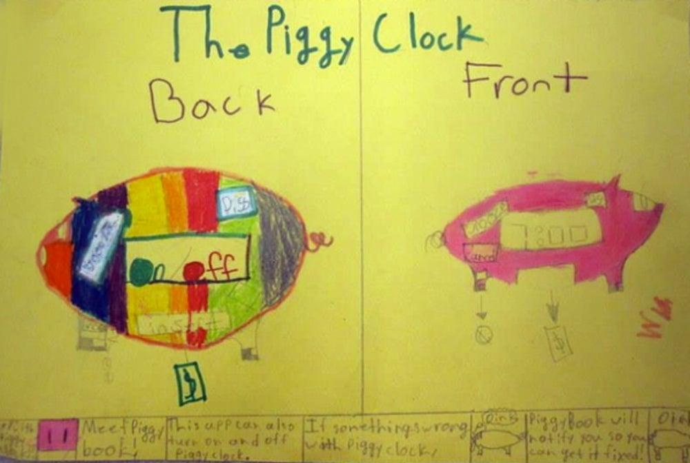 1) The Piggy Clock