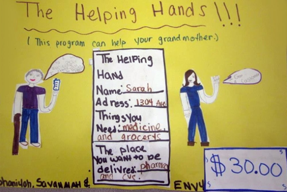 4) Helping Hands