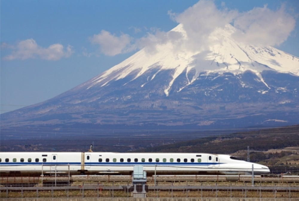 1. Shinkansen Bullet Train (Japan).