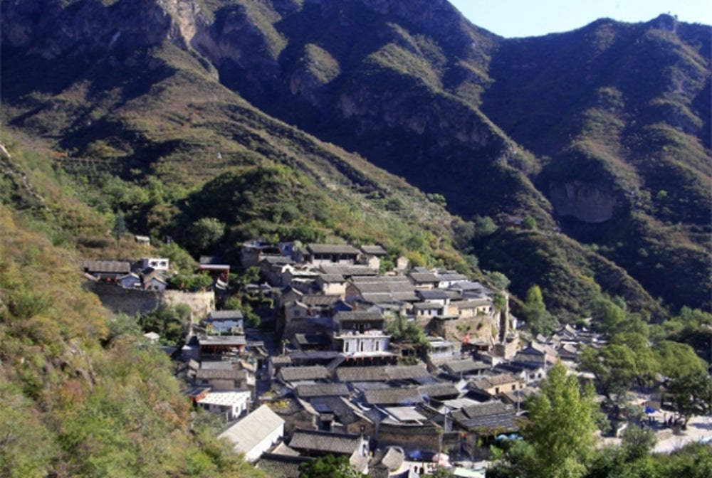 4. Cuandixia Village (China).