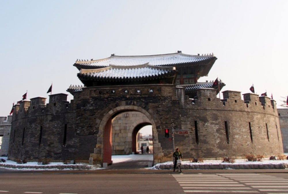 8. Suwon (South Korea).