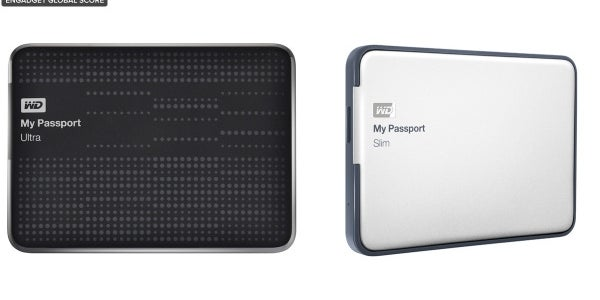 Western Digital My Passport Ultra/My Passport Slim