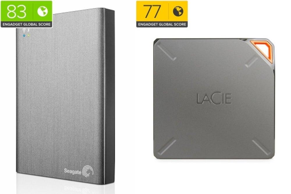 Seagate Wireless Plus/LaCie Fuel
