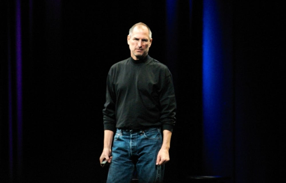Apple co-founder Steve Jobs: Be willing to fail.