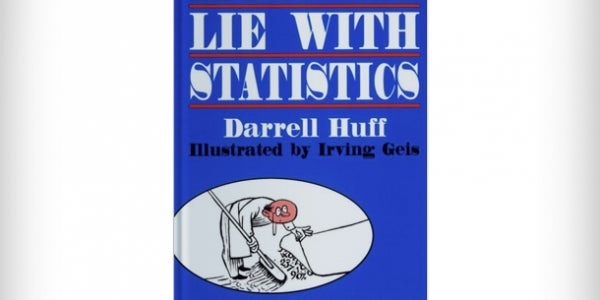 'How to Lie with Statistics' by Darrell Huff