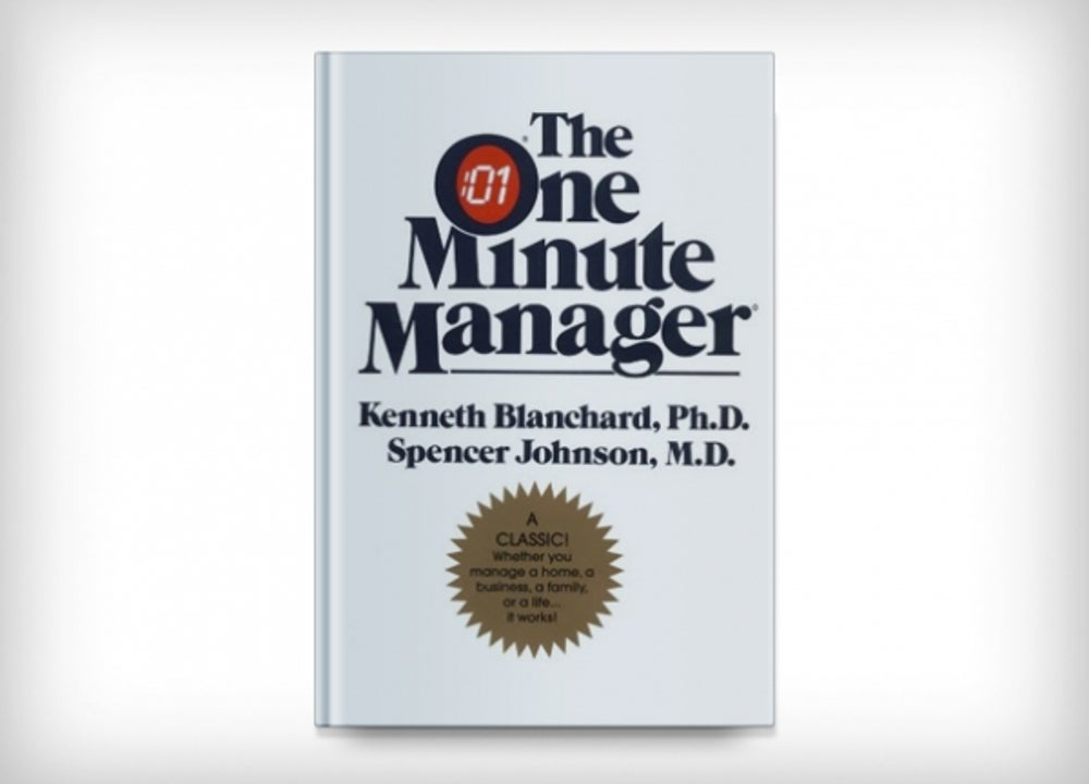 'The One Minute Manager' by Kenneth Blanchard and Spencer Johnson