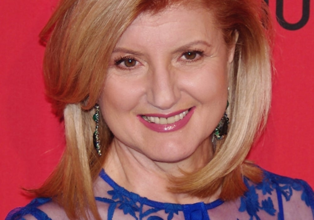 Arianna Huffington, editor-in-chief of the Huffington Post