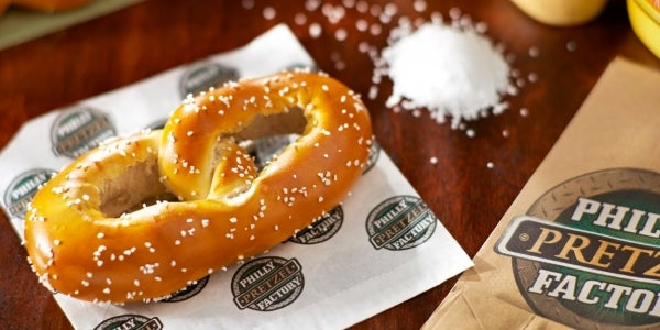 1. Philly Pretzel Factory