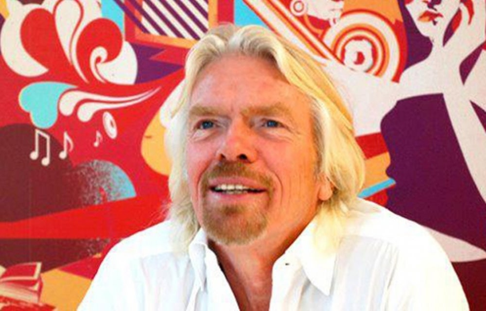 6. Richard Branson, serial entrepreneur and founder of Virgin Group