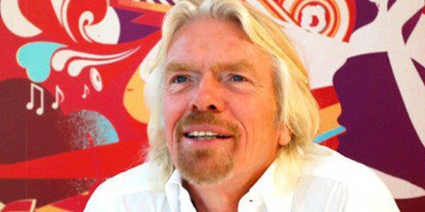 6. Richard Branson, serial entrepreneur and founder of Virgin Group