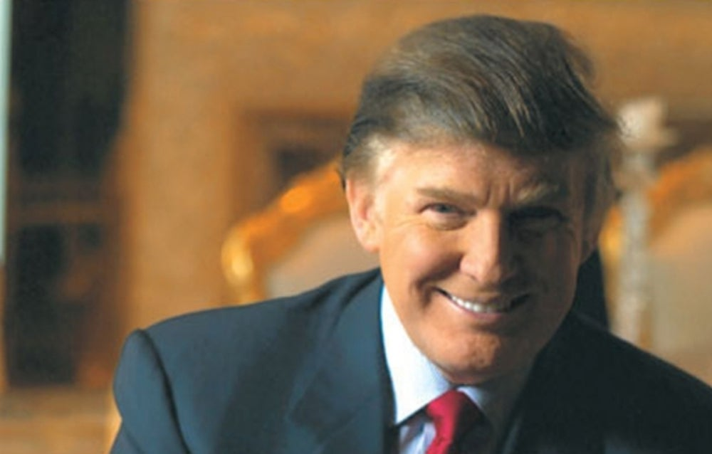 8. Serial entrepreneur and real-estate mogul Donald Trump