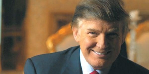 8. Serial entrepreneur and real-estate mogul Donald Trump