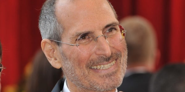 7. Steve Jobs, co-founder and former CEO of Apple