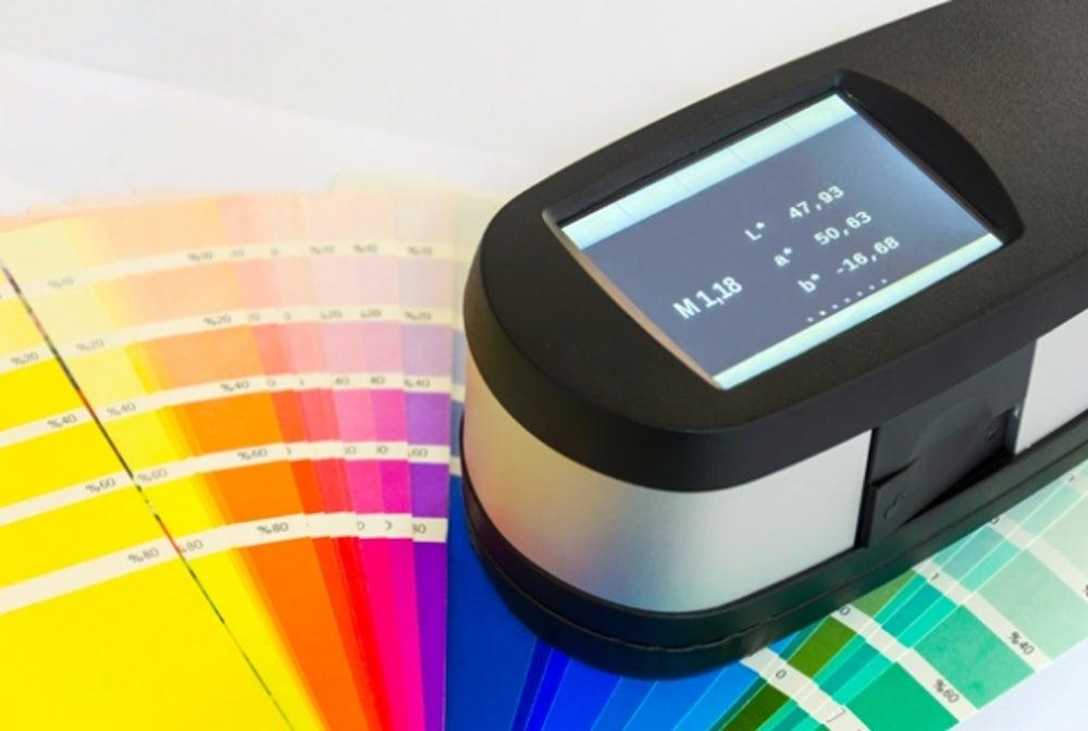 1. A spectrometer.