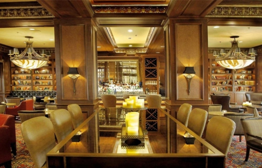 The Library Bar at the Warwick Melrose Hotel (Dallas, TX)