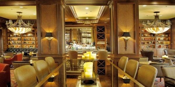 The Library Bar at the Warwick Melrose Hotel (Dallas, TX)
