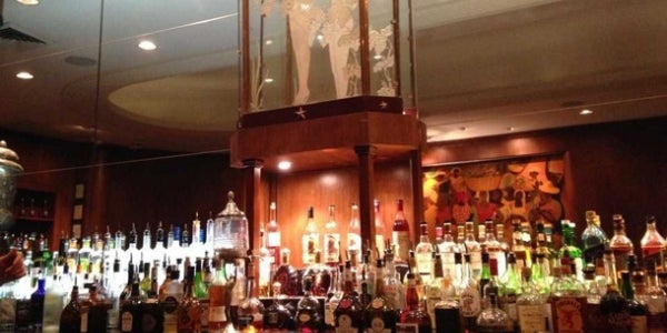 The Sazerac Bar at the Roosevelt Hotel (New Orleans, LA)