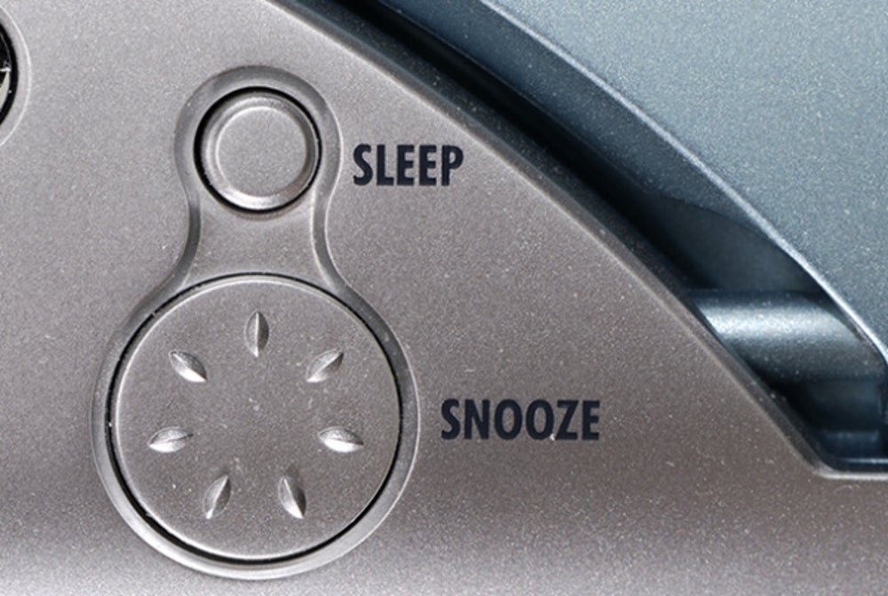 6. Banish the snooze button.